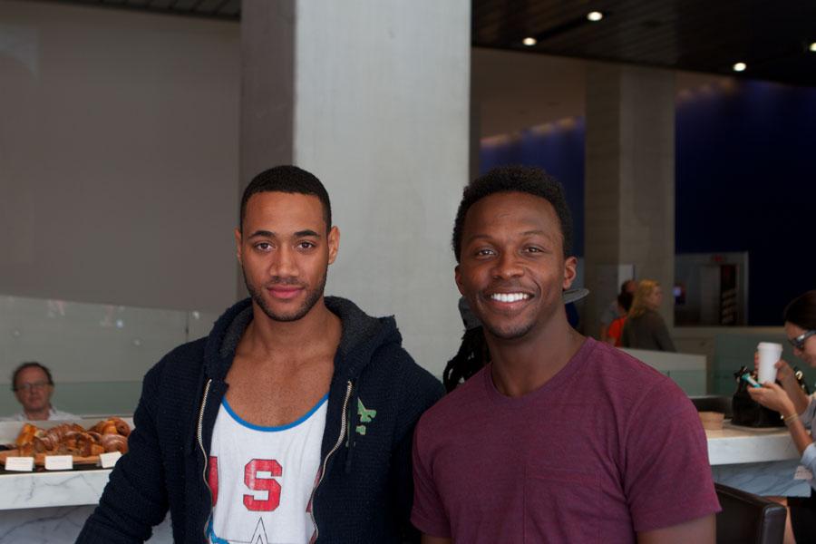 Nykeem Provo and Emannuel Kabongo at TIFF 2012 Blackhouse Foundation
