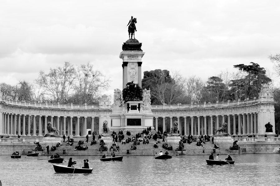 Parc del Retiro, Madrid Spain